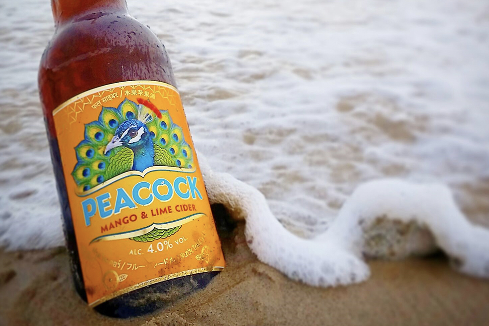 KBE Drinks Launch NEW Peacock Mango & Lime Cider