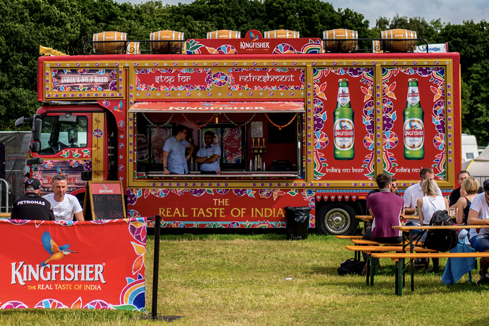 Bestival look to rejoice in an Indian Summer with the help of Kingfisher Beer!