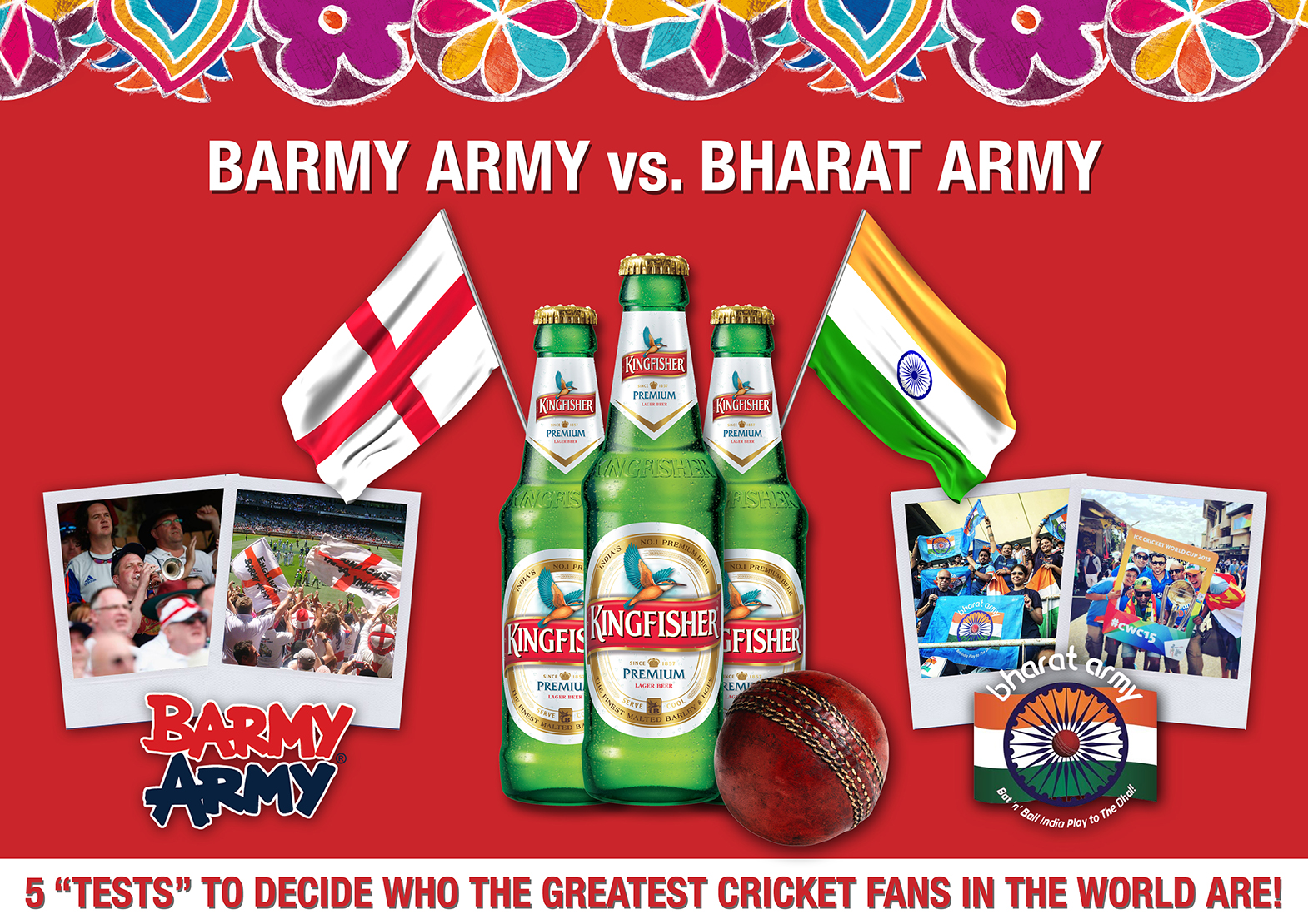The Barmy Army vs. The Bharat Army