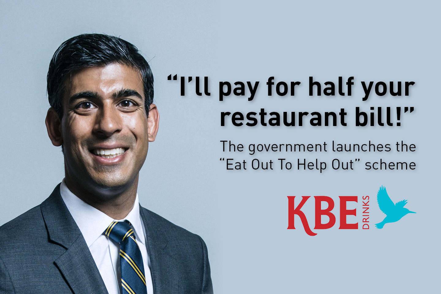 """The government launches the  """"Eat Out To Help Out"""" scheme"""